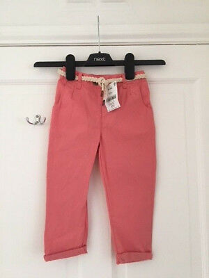 Lovely baby girls pink trousers from NEXT, Size 1 1/2 - 2 Years, BNWT!