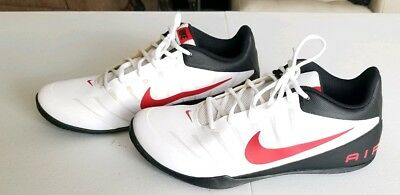 more photos 75ee2 ae457 NIKE Air Mavin 2 Men s Sz 12 White Red Black Basketball Sneakers Shoes Low  top