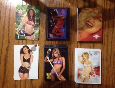 Benchwarmer Card Lot Approximately 108 Cards Total Various Years