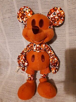 ☆VERY RARE Disney Mickey Mouse Memories july Plush☆ . INSTANTLY SOLD OUT!