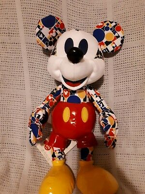 ☆VERY RARE Disney Mickey Mouse Memories March Plush☆ . INSTANTLY SOLD OUT!