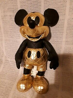 ☆VERY RARE Disney Mickey Mouse Memories August Plush☆ . INSTANTLY SOLD OUT!