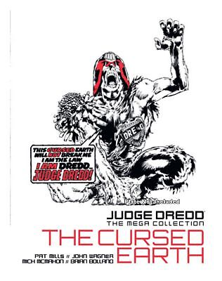 NEW SEALED Judge Dredd Mega Collection ISSUE 8 THE CURSED EARTH