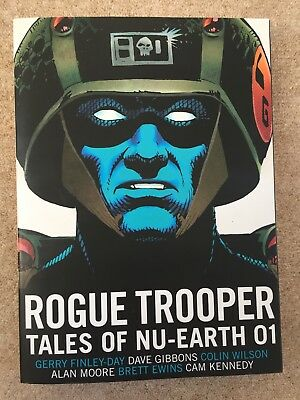 Rogue Trooper Tales of Nu-Earth Volume 01 2000AD Complete Collection