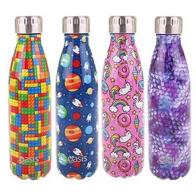Oasis Kids Insulated Stainless Steel Drink Bottle (500ml)