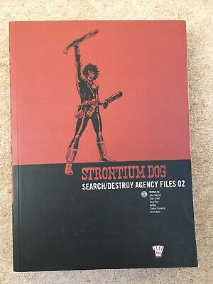 Strontium Dog Search/Destroy Agency Files 02 2000AD Volume 2 Complete collection