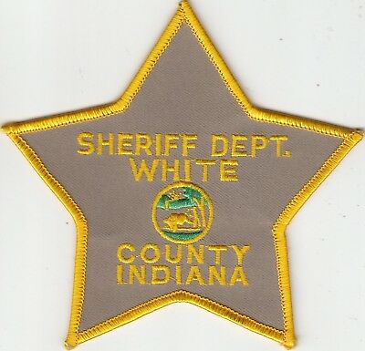 White County Indiana Sheriff Department Police Patch In