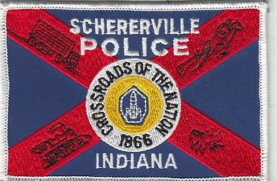 Schererville Police Patch Indiana In