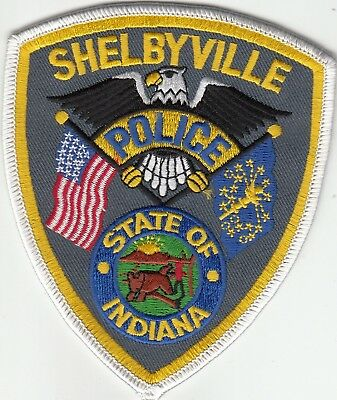 Shelbyville Police Shoulder Patch Indiana In