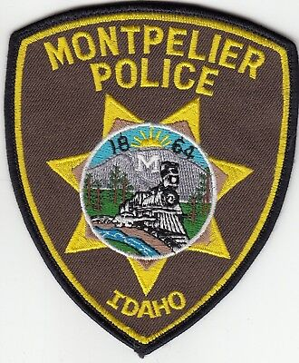 Montpelier Police (Train) Patch Idaho Id