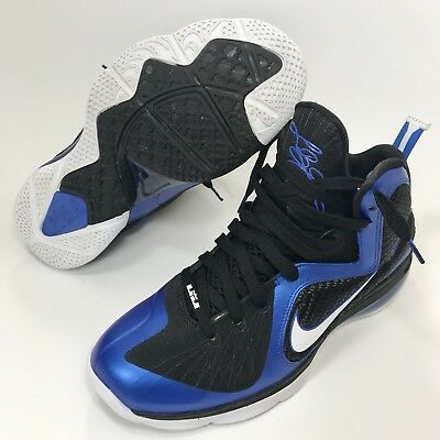 size 40 906d3 ad9b7 Nike Lebron 9 IX Kentucky Wildcats Black Blue Basketball 469764-400 Men s  10.5