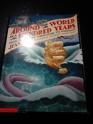 Around the World In a Hundred Years by Jean Fritz (Softcover) VERY GOOD-FREE S/H