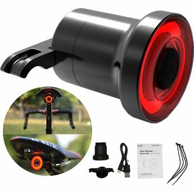 XLite100 Waterproof Bicycle Smart Brake Light Sense LED USB Tail Light Rear Lamp