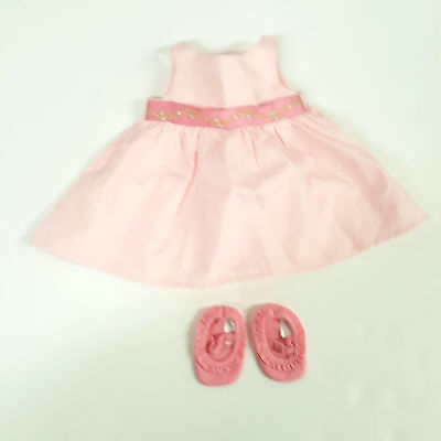 American Girl Bitty Baby Pink Starter Collection Dress (A10-23)