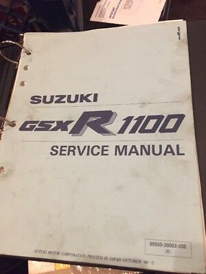 suzuki gsxr1100 1991 factory service repair manual