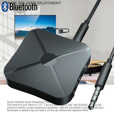 2 in 1 Bluetooth 4.2 Wireless Audio TV Transmitter Adapter Car Music Receiver.