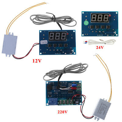 K-type Digital Thermostat Module AC 220V/DC 12V / 24V -30~999℃ Controller Board
