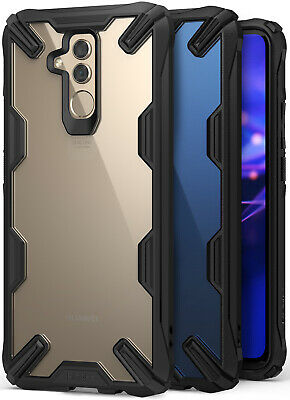 Huawei Mate 20 Lite Case Ringke NEW [Fusion-X] Clear PC Back TPU Drop Protection