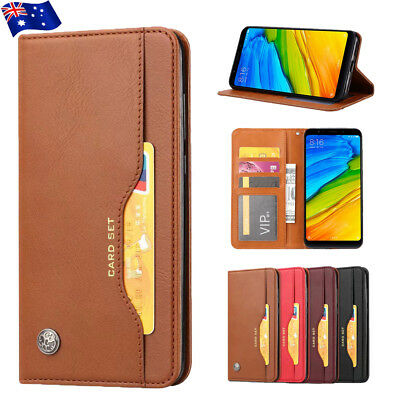 For Oneplus 6 6T Magnetic Flip Leather Wallet Crads Holder Case Stand Cover New