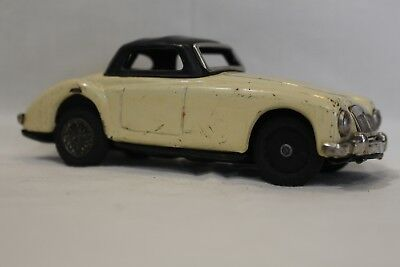 Vintage MGA Hard Top Tin Toy Car white / cream by SSS Shakman Japan