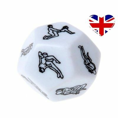 12 Side Sex Dice ! Sex / Lover Position Dice ! Adult Couple Bedroom Funny Game