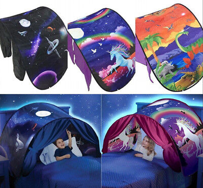 Foldable Tents Unicorn Dinosaur Snowflower Space Adventure Magical Dream Tent