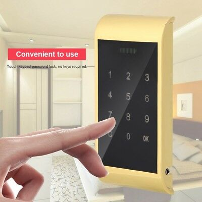 Touch Keypad Code Lock Password Key Access Digital Electronic Cabinet Locker