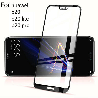 Huawei P20 Pro Screen Protector Best Tempered Glass Thin 100% Full Protection