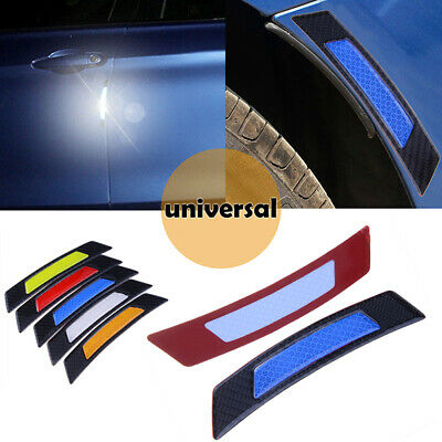2x Reflective Warning Strip Tape Car Strips Secure Stickers Decals Safety Blue