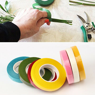 New Florist Floral Stem Tape Corsages Buttonhole Artificial Flower Wrap DIY