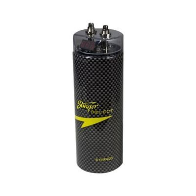 5 Farad Capacitor Stinger Select SSCAP5M 5000W Power Audio 12V Car Digital Power