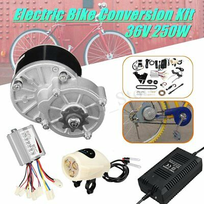 36V 250W Electric Bike Conversion Motor Set w/ Charger For 22-28'' Ordinary Bike