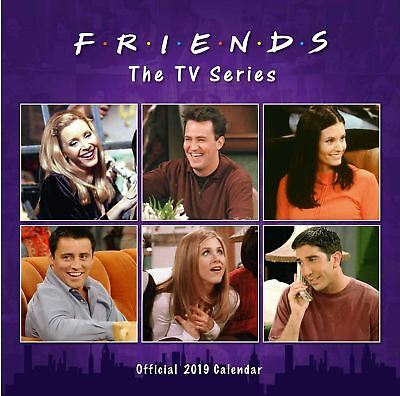 Official 2019 Friends Calendar Square TV Series Gift Present Wall Hanging