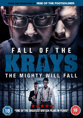 Fall of the Krays DVD (2016) Simon Cotton ***NEW***
