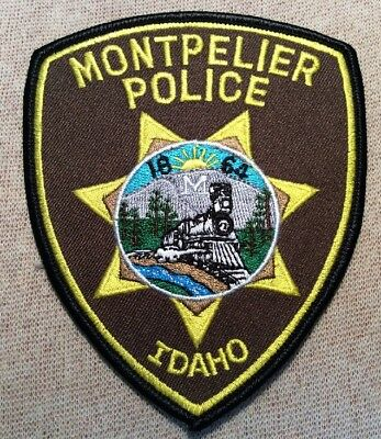 ID Montpelier Idaho Police Patch