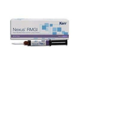 Glass Ionomer Dental Cement Nexus RMGI Resin Modified From Kerr 5 gm x 3