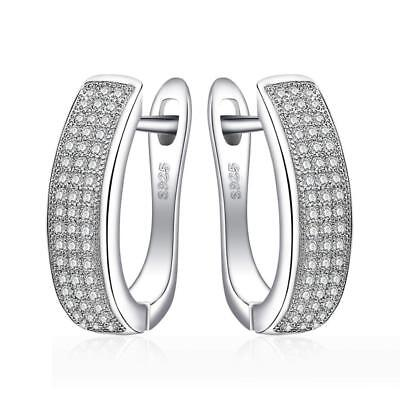 JewelryPalace 0.5ct Cubic Zirconia Anniversary Channel Set Eternity Hoop...