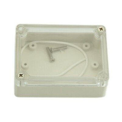 85x58x33mm Waterproof Clear Cover Plastic Electronic Cable Project Box Encl V7M2