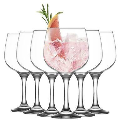 LAV Combinato Gin Tonic Glasses G&T Balloon Cocktail Glass, 690ml -  Set of 12