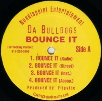 "Da Bulldogs - Bounce It / Live It Up Vinyl 12"" 0716798"