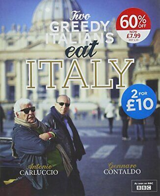 Whs-Two Greedy Italians Eat Italy Book The Cheap Fast Free Post