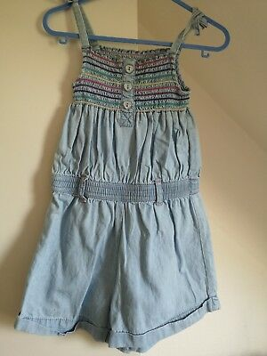 George 2-3 Chambray Playsuit