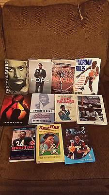 AFRICAN AMERICAN BLACK HISTORY ATHLETES & MUSICIANS lot of 15