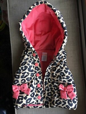 Gymboree Baby Girl Hooded Vest 6-12mo