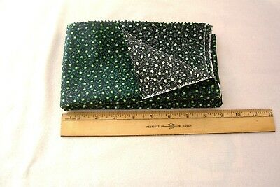 Vintage 1940's Calico Cotton Quilt/Dress Fabric Fashioned after 1890's Material