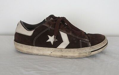 Converse ALL STARS Skater Trainers 1990's 90's 1997 UK 8.5 Brown (V4K)