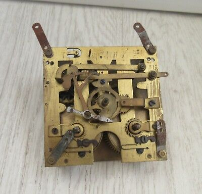Large Vintage  Clock Movement possibly grandmotherfor Spares only -STEAMPUNK