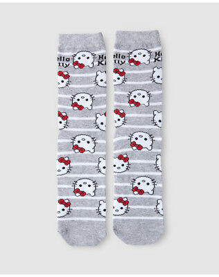 Chaussettes femme Hello Kitty à rayures A26086534