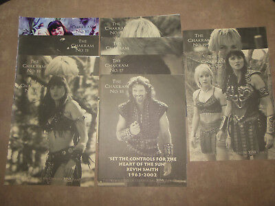 The Chakram News Letter of the Official Xena Fan Club 10,11,12,14-20