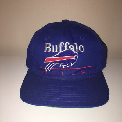 5e9cd9c7 BUFFALO BILLS NFL SPORTS SPECIALTIES VINTAGE 1990s SNAPBACK CAP HAT ...